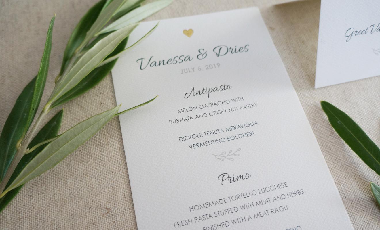 Ontwerp uitnodiging trouwfeest - Partypal.be